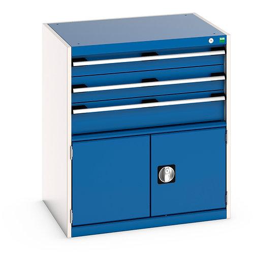 Cubio Drawer-Door Cabinet 800 x 650 x 900mm