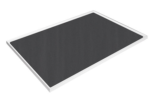 Cubio Top Tray With Inlaid Mat 1050 x 525 x 15mm
