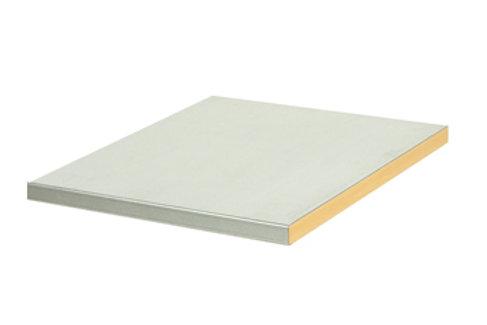 Cubio Steel Clad Worktop 750 x 750 x 40mm
