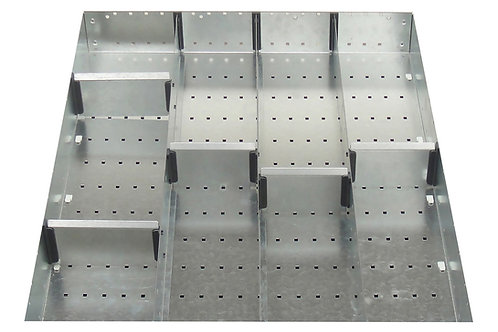 Cubio Adj Metal Divider Kit 9 Comp 525 x 625 x 52mm
