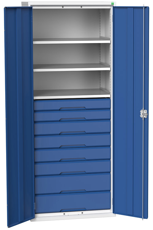 Verso Kitted Cupboard 800 x 550 x 2000mm