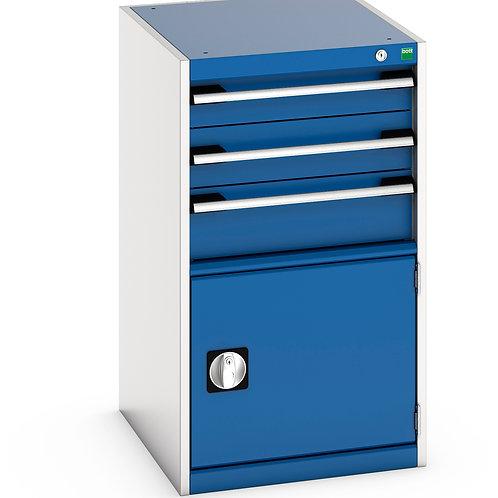 Cubio Drawer-Door Cabinet 525 x 650 x 900mm
