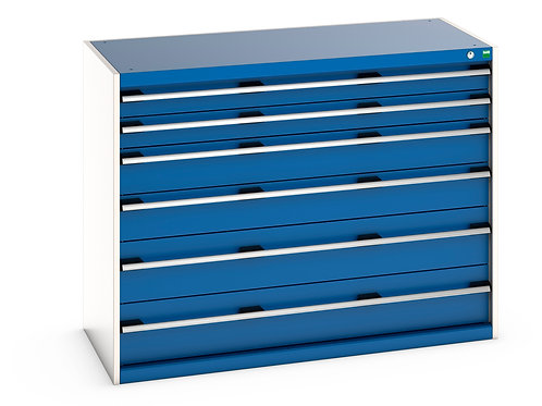 Cubio Drawer Cabinet 1300 x 650 x 1000mm