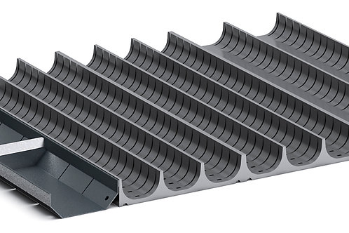 Cubio Trough Block Divider Kit 24 Compartment 525 x 400 x 28mm