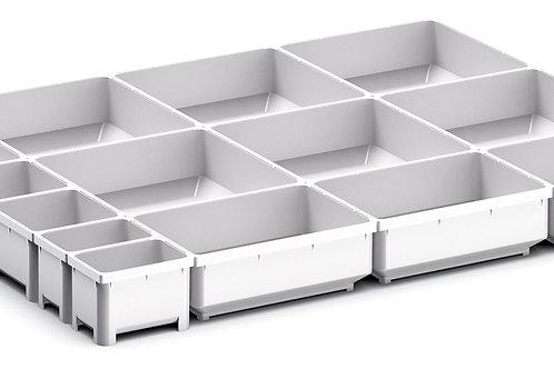 Cubio Plastic Box Divider Kit 14 Comp 525 x 400 x 50mm