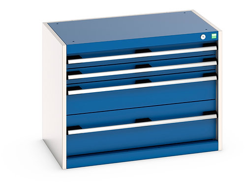 Cubio Drawer Cabinet 800 x 525 x 600mm
