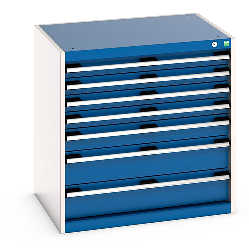 Cubio Drawer Cabinet 800 x 650 x 800mm