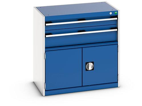 Cubio Drawer-Door Cabinet 800 x 525 x 800mm