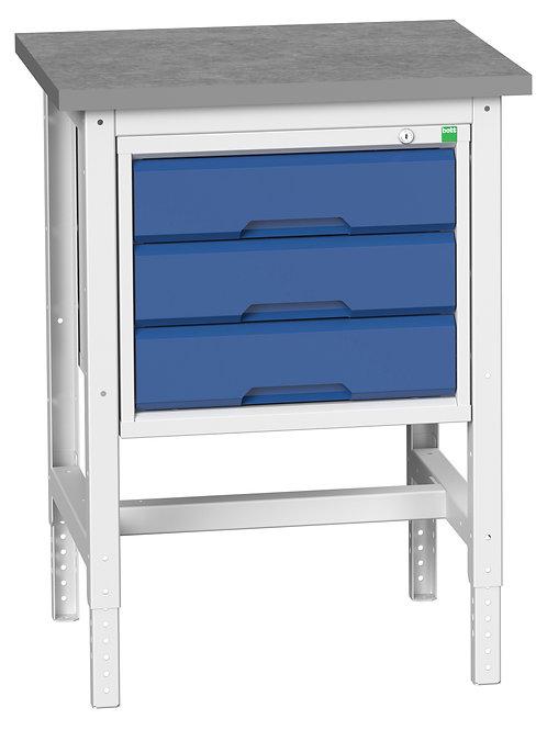 Verso Adj. Height Workstand 700 x 600 x 930mm