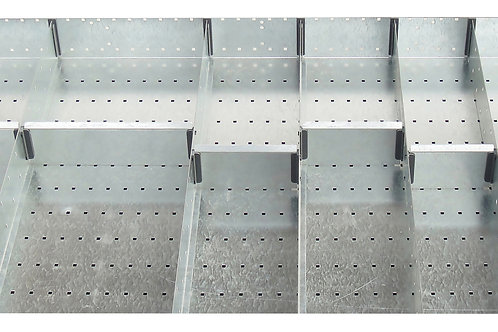 Cubio Adj Metal Divider Kit 14 Comp 1175 x 625 x 127mm