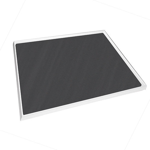 Cubio Top Tray With Inlaid Mat 650 x 750 x 15mm