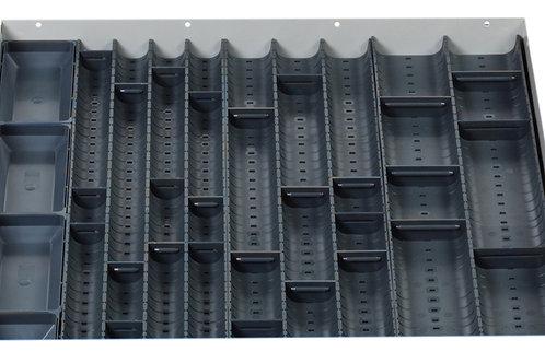 Cubio Trough Block Divider Kit 36 Compartment 525 x 525 x 28mm