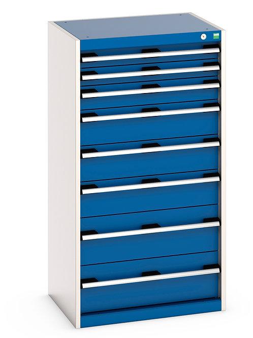 Cubio Drawer Cabinet 650 x 525 x 1200mm