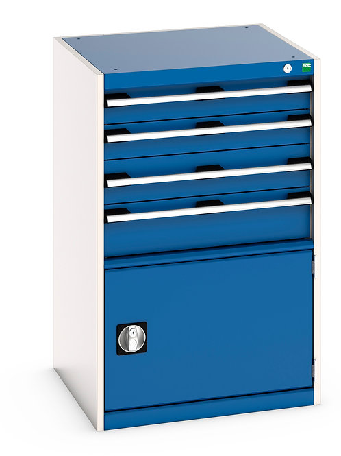 Cubio Drawer Cabinet 650 x 650 x 1000mm