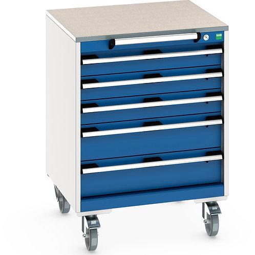 Cubio Mobile Cabinet 650 x 650 x 890mm