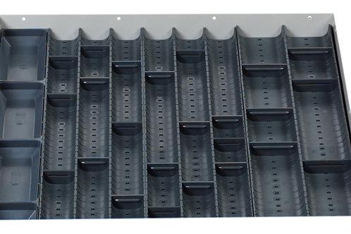 Cubio Trough Block Divider Kit 32 Compartment 525 x 525 x 28mm