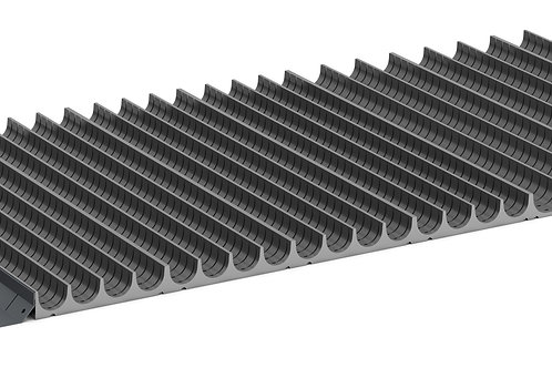 Cubio Trough Block Divider Kit 100 Compartment 1175 x 525 x 28mm