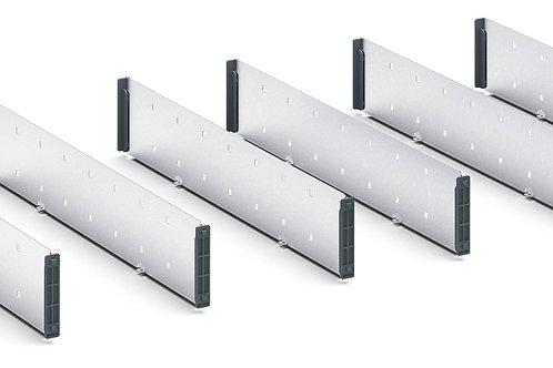 Verso Adjustable Metal Divider Kit 925 x 430 x 77mm