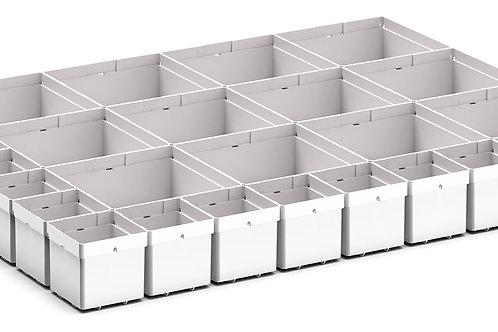 Cubio Plastic Box Divider Kit 27 Comp 675 x 525 x 68mm