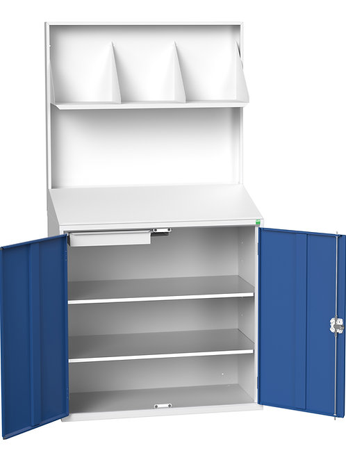 Verso Economy Lectern With Backpanel 1050 x 550 x 2000mm