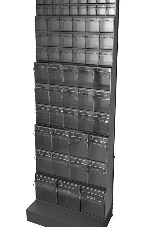 Tilt Box Freestanding Rack