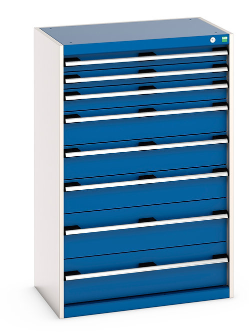 Cubio Drawer Cabinet 800 x 525 x 1200mm