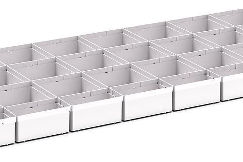 Cubio Plastic Box Divider Kit 39 Comp 1175 x 525 x 68mm