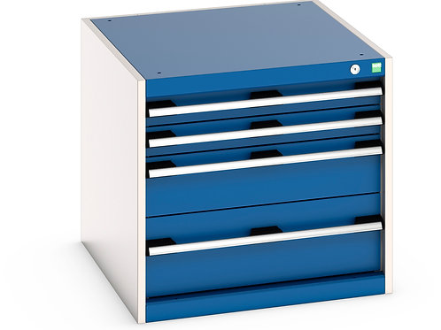 Cubio Drawer Cabinet 650 x 750 x 600mm