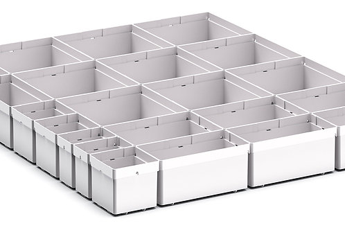 Cubio Plastic Box Divider Kit 22 Comp 525 x 675 x 68mm