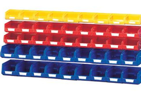Plastic Bin Kit for 2Mtr - Pack 45