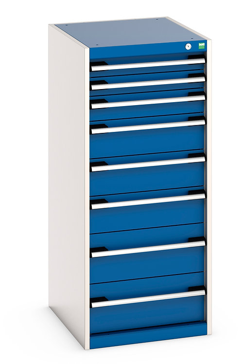 Cubio Drawer Cabinet 525 x 650 x 1200mm