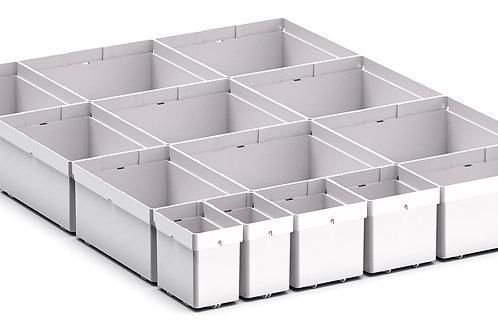 Cubio Plastic Box Divider Kit 14 Comp 400 x 525 x 68mm