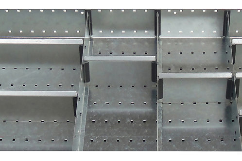 Cubio Adj Metal Divider Kit 11 Comp 675 x 525 x 52mm