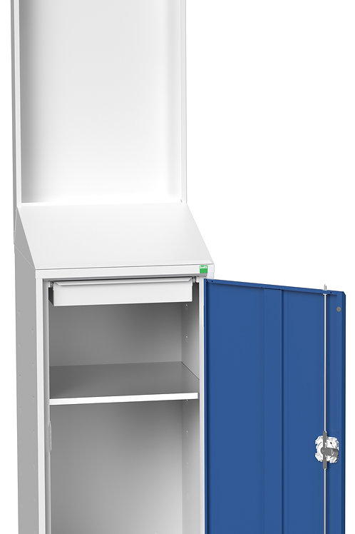 Verso Economy Lectern With Backpanel 525 x 550 x 2000mm