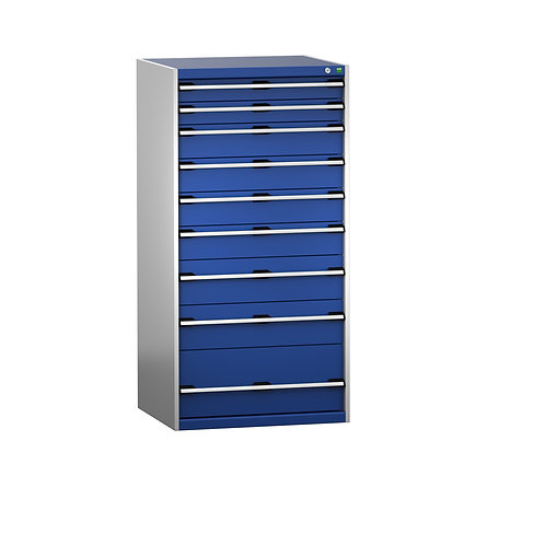Cubio Drawer Cabinet 800 x 750 x 1600mm