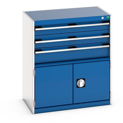 Cubio Drawer-Door Cabinet 800 x 525 x 900mm