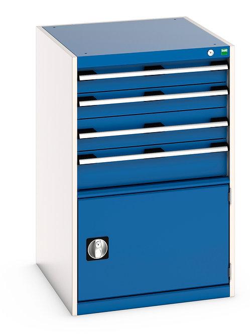 Cubio Drawer-Door Cabinet 650 x 750 x 1000mm