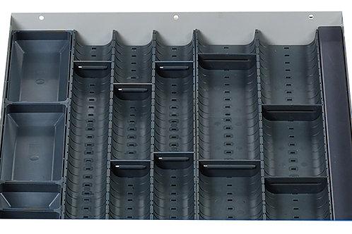 Cubio Trough Block Divider Kit 15 Compartment 400 x 400 x 28mm