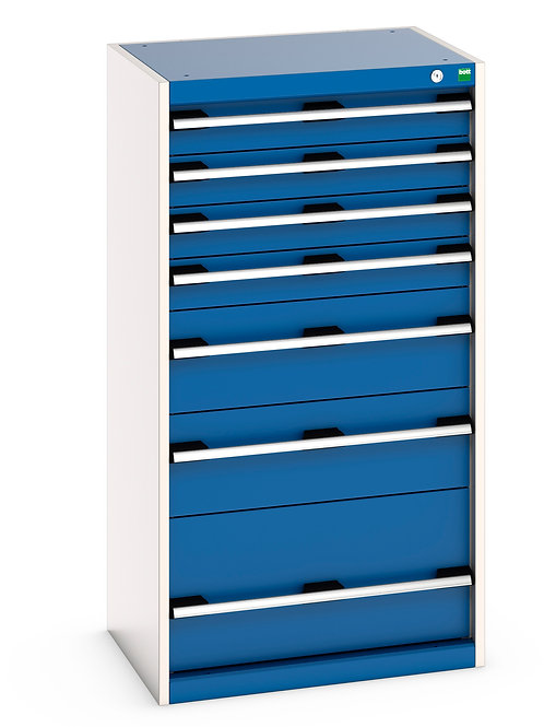 Cubio Drawer Cabinet 650 x 525 x 1200mm