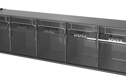 Tilt Box Kit 5 Compartments