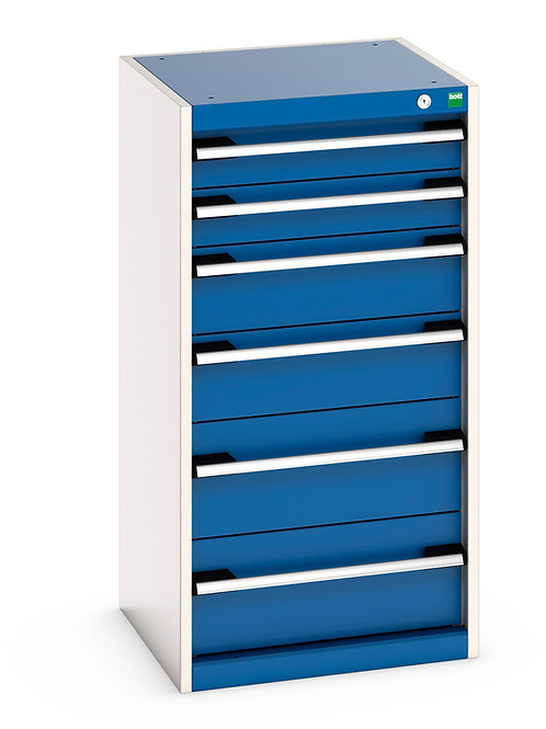 Cubio Drawer Cabinet 525 x 525 x 1000mm