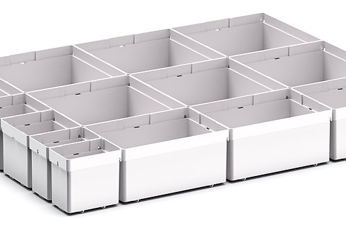 Cubio Plastic Box Divider Kit 14 Comp 525 x 400 x 68mm