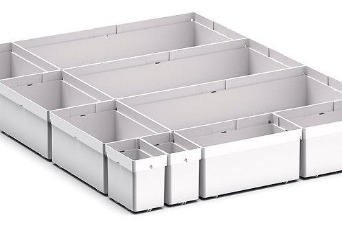 Cubio Plastic Box Divider Kit 10 Comp 400 x 525 x 68mm