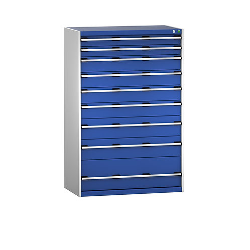 Cubio Drawer Cabinet 1050 x 650 x 1600mm
