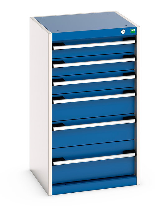Cubio Drawer Cabinet 525 x 525 x 900mm