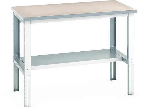 Cubio Framework Bench Adj Height (Lino) 1500 x 900 x 1140mm