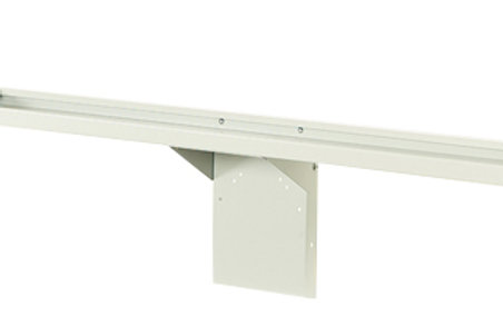 Cubio Trolley Rear Shelf Kit 1050 x 125 x 25mm