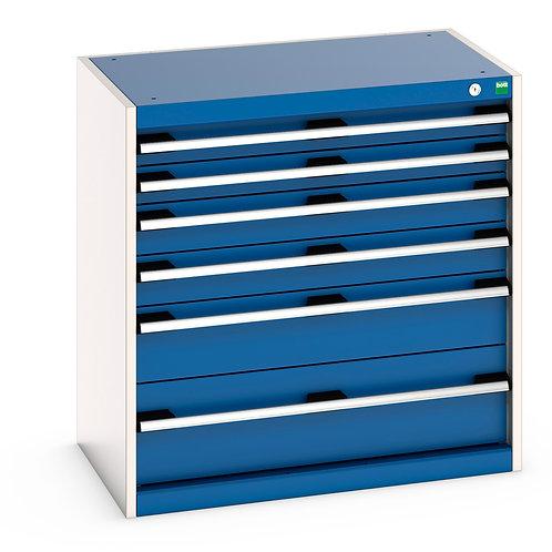 Cubio Drawer Cabinet 800 x 525 x 800mm