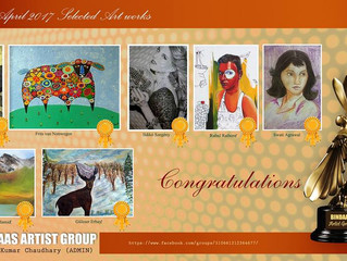 April month selected artist
