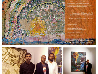"""Contemporary Painting Exhibition, at National Museum, New Delhi """"GANGA- River of Life & Ent"""